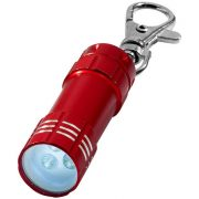 Breloc lanterna, Everestus, KR0068, aluminiu, rosu