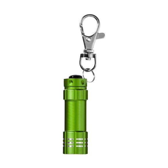 Breloc lanterna, Everestus, KR0065, aluminiu, verde