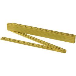 Monty 2 metre foldable ruler, ABS plastic, Yellow