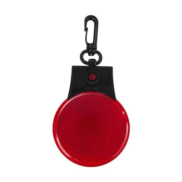 Blinki reflector LED light, ABS plastic with PS plastic reflector, Red