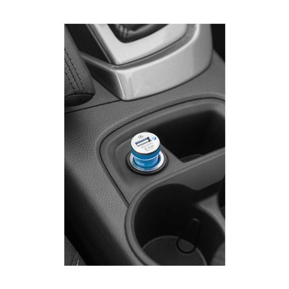 Casco car adapter, ABS plastic, Royal blue