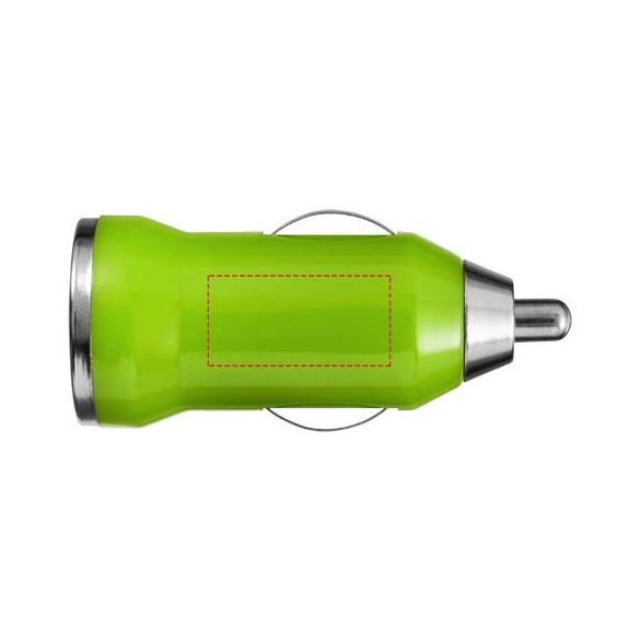 Casco car adapter, ABS plastic, Lime
