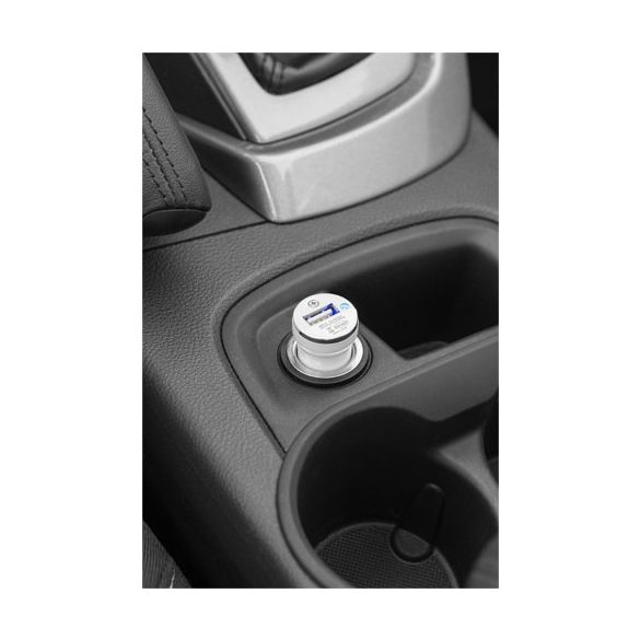Casco car adapter, ABS plastic, White