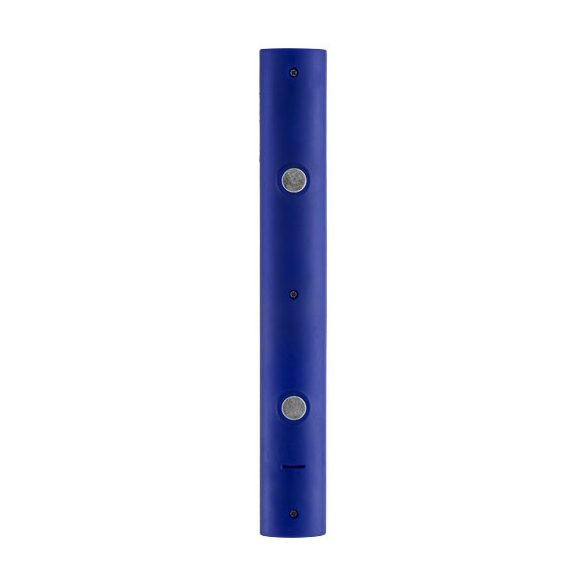 Magnet LED torch light, PS plastic, Royal blue