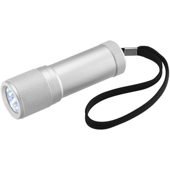 Mars LED mini torch light, Aluminium, Silver