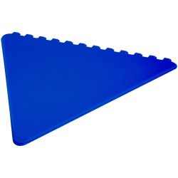 Frosty triangular ice scraper, PS plastic, Royal blue
