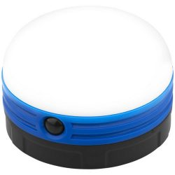 Happy-camping 5-LED lantern light, ABS and AS plastic, solid black,Royal blue