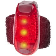 Rideo red reflector light, Plastic, Red, solid black