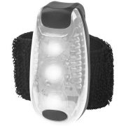 Rideo red reflector light, Plastic, White, solid black