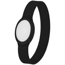 Tico multi-colour LED bracelet, Silicone, solid black