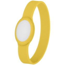 Tico multi-colour LED bracelet, Silicone, Yellow