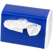 Roadtrip waste bag dispenser, ABS plastic, White,Royal blue