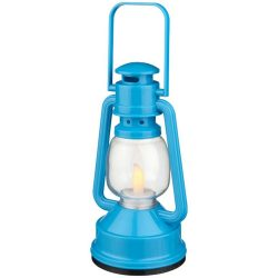 Emerald LED lantern light, ABS plastic, Royal blue