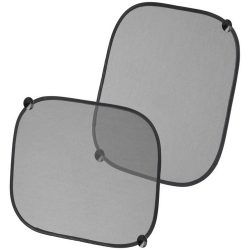 Sungone car sun shades, Polyester, solid black