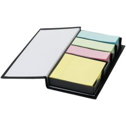 Mestral sticky notes set, Cardboard, solid black