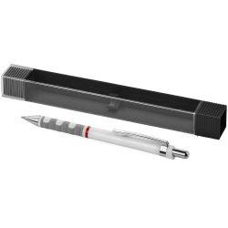 Creion mecanic usor, mina 0.5 mm, Everestus, TY, plastic, alb, lupa de citit inclusa
