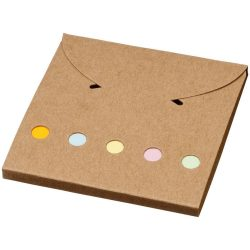 Deluxe coloured sticky notes set, Cardboard, Natural