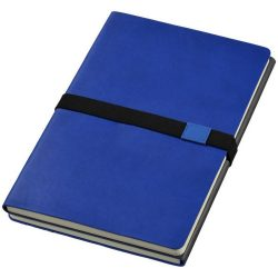 Doppio A5 soft cover notebook, Thermo PU, Navy,Grey