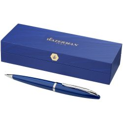 Carène ballpoint pen with lacquered barrel, Lacquered, Blue