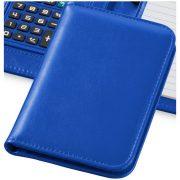 Agenda A6 cu calculator, Everestus, 20IAN1844, Albastru, Poliuretan