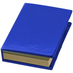 Storm sticky notes booklet, Cardboard, Royal blue