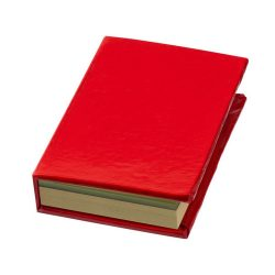 Storm sticky notes booklet, Cardboard, Red