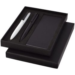 Set cadou pix, creion mecanic si carnetel, Everestus, RR, metal, negru