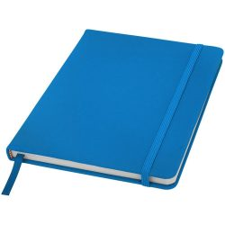 Spectrum A5 hard cover notebook, PVC covered cardboard, Light blue