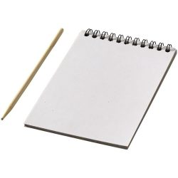 Waynon colourful scratch pad with scratch pen, Paper, White