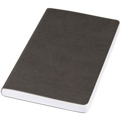 Rollable medium pocket notebook, PU leather, solid black