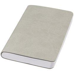 Rollable medium pocket notebook, PU leather, Grey