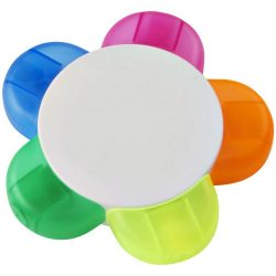 Flower Highlighter, ABS Plastic, White