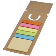 Sticky note bookmark, Paper, Brown