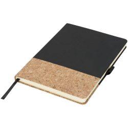 Agenda A5 cu pagini dictando, coperta tare cu elastic, Everestus, EA01, pluta, pu, negru