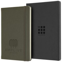 Classic L leather notebook - ruled, Leather, Moss Green