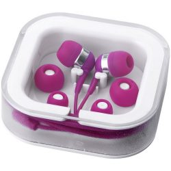 Sargas lightweight earbuds, ABS and PVC, Pink