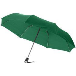 Umbrela 21.5 inch pliabila, cu deschidere si inchidere automata, Everestus, AX, poliester, verde