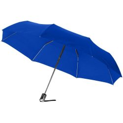 Umbrela 21.5 inch pliabila, cu deschidere si inchidere automata, Everestus, AX, poliester, albastru royal