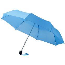 "Ida 21.5"" foldable umbrella, Polyester, Blue"