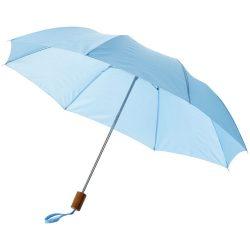 """Oho 20"""" foldable umbrella, Polyester, Blue"""