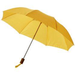 "Oho 20"" foldable umbrella, Polyester, Yellow"