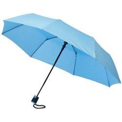 Umbrela 21 inch automatica pliabila, Everestus, WI, pongee poliester, albastru