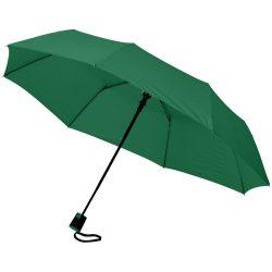 Umbrela 21 inch automatica pliabila, Everestus, WI, pongee poliester, verde