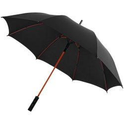 Umbrela 23 inch cu deschidere automata, rezistenta la vant, Everestus, SK, 190T pongee poliester, negru, rosu, saculet inclus
