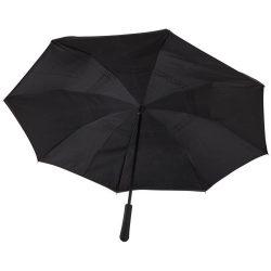 Umbrela 23 inch, pliabila, Everestus, LA, 190T pongee poliester, negru