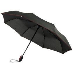 "Stark-mini 21"" foldable auto open/close umbrella, Pongee polyester, Red"