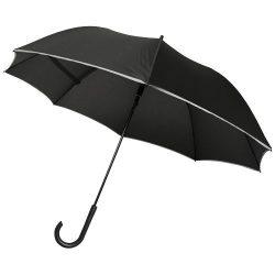 Umbrela 23 inch, rezistenta la vant, deschidere automata, Everestus, 20IAN050, Poliester, Negru