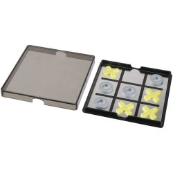 Joc magnetic X si 0, Everestus, JJE10, polipropilena plastic, negru transparent, saculet de calatorie inclus