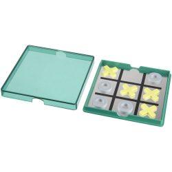 Winnit magnetic tic-tac-toe game, PP plastic, Green,Transparent
