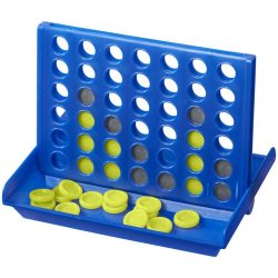 Luke 4-in-a-row game, PP plastic, Royal blue